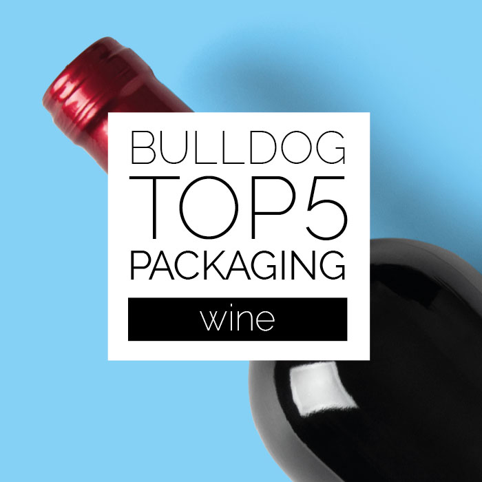 Imagen principal post Bulldog TOP5: Packaging Vino
